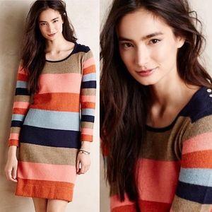 Anthropologie Colorstack Sweater Dress